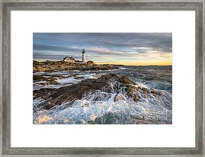 Be There Framed Print