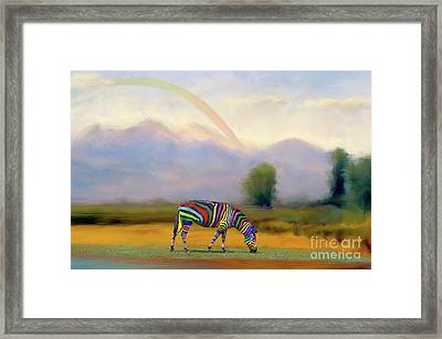 Be Transformed By The Renewal Of Your Mind Framed Print by Bonnie Barry