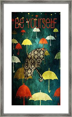 Be Yourself - Large Format Framed Print