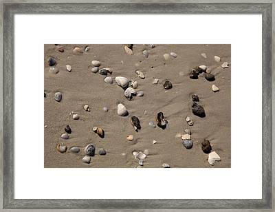 Beach 1121 Framed Print