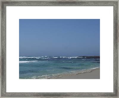 Beach 2 Framed Print by Dawn Marie Black