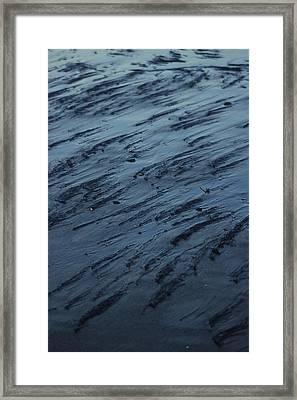 Beach Abstract 20 Framed Print
