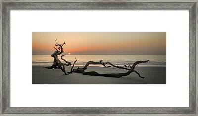 Beach Art Cropped Framed Print