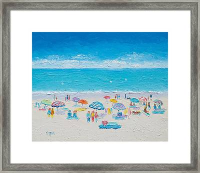 Beach Art - Fun In The Sun Framed Print
