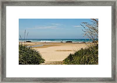 Beach Oceanview II Framed Print