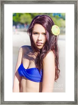 Beach Beauty Framed Print by Jorgo Photography - Wall Art Gallery