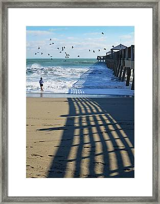 Beach Bliss Framed Print by Laura Fasulo