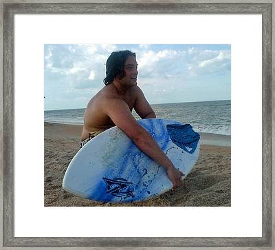 Beach Bliss Framed Print by Patricia Taylor