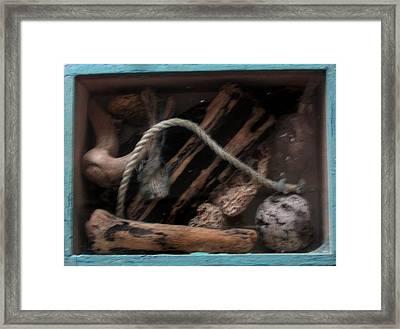 Beach Box I Framed Print by Adam Kissel