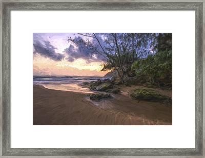 Beach Brilliance II Framed Print by Jon Glaser