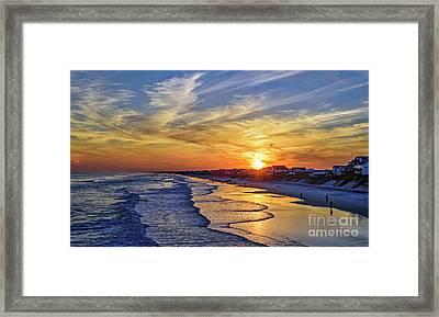 Beach Bum Framed Print