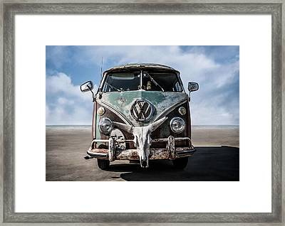 Beach Bum Framed Print by Douglas Pittman