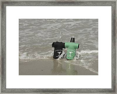 Beach Bums Framed Print by JAMART Photography