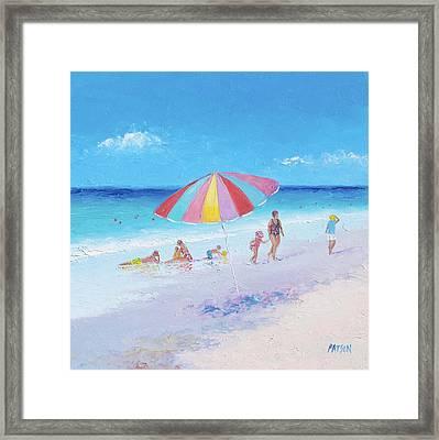 Beach Colors - Beach Decor Framed Print