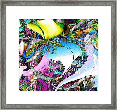 Beach Framed Print by Dave Kwinter