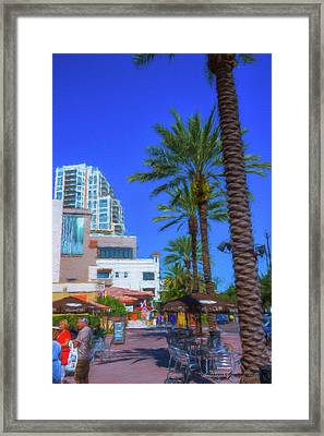 Beach Dr. St. Petersburg Florida Framed Print by Marvin Spates