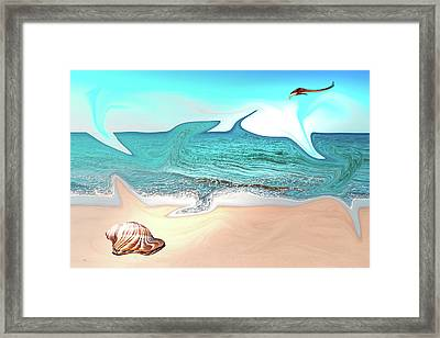 Beach Dream Framed Print