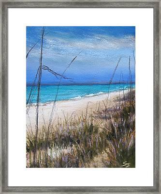 Beach Dreaming Framed Print by Susan Jenkins