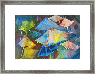 Beach Dreams II Framed Print by Neva Rossi