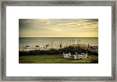 Beach Dreams Framed Print by TK Goforth