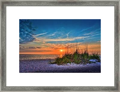 Beach Dune Framed Print by Marvin Spates