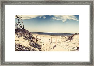 Beach Dune Path Framed Print by Jorgo Photography - Wall Art Gallery