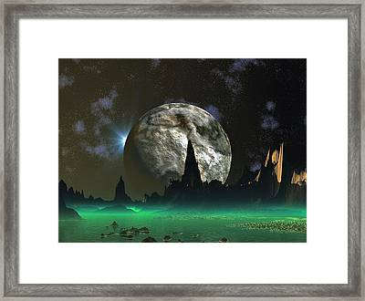 Beach Eclipse Framed Print by David Jackson