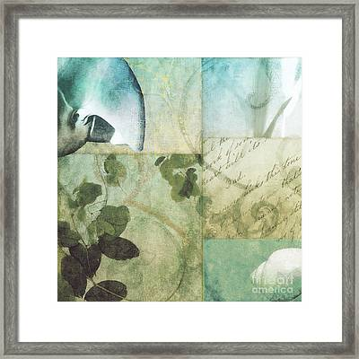Beach Expressions II Framed Print by Mindy Sommers