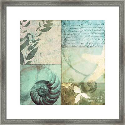 Beach Expressions Framed Print by Mindy Sommers