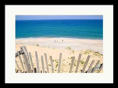 Marconi Beach Framed Prints