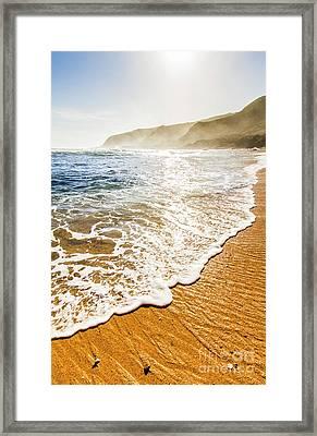 Beach Fine Art Framed Print by Jorgo Photography - Wall Art Gallery