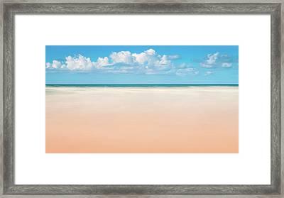 Beach Front Framed Print by Joseph Smith
