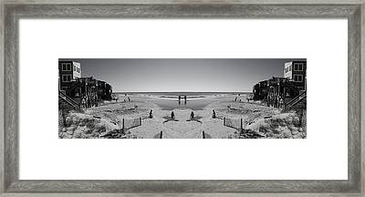 Beach Fun Framed Print by Betsy Knapp