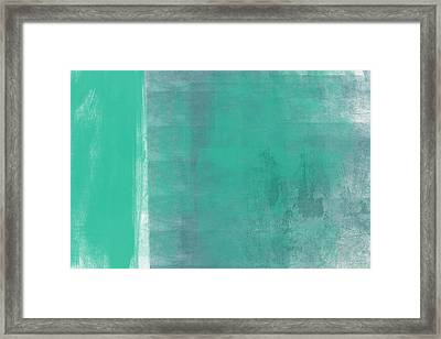 Beach Glass 2 Framed Print by Linda Woods