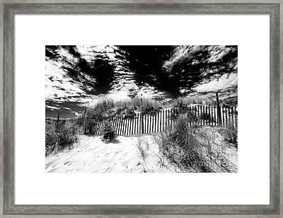 Beach Haven Framed Print by John Rizzuto
