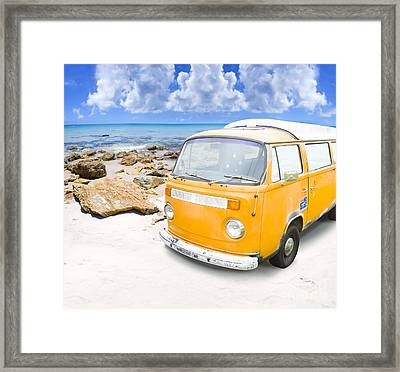 Beach Holiday Framed Print by Jorgo Photography - Wall Art Gallery