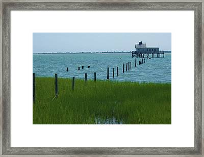 Beach House - 19 Framed Print