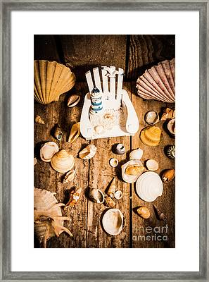 Beach House Artwork Framed Print by Jorgo Photography - Wall Art Gallery