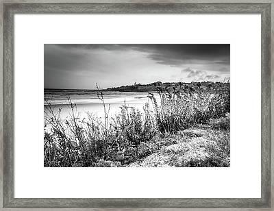 Beach In Ogunquit Framed Print