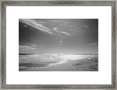 Beach Framed Print by John Gusky