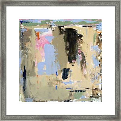 Beach Landcape II Framed Print by Jacquie Gouveia
