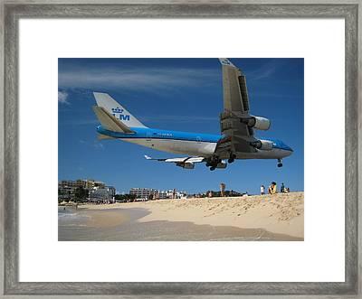 Beach Landing Framed Print