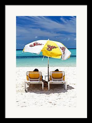 Playa Norte Framed Prints