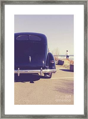 Framed Print featuring the photograph Beach Memories by Edward Fielding