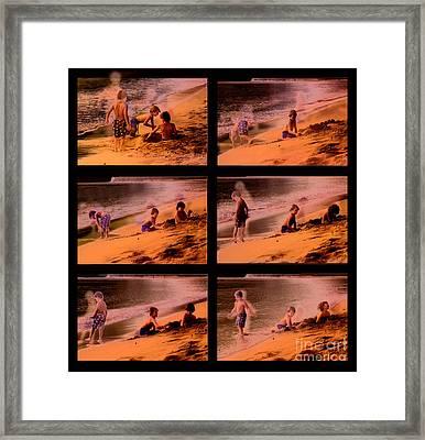 Beach Memories Framed Print by Madeline Ellis