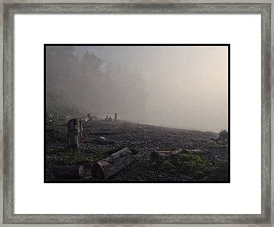 Beach Mist  Framed Print
