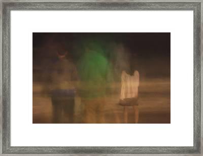 Beach Nite 1 Framed Print
