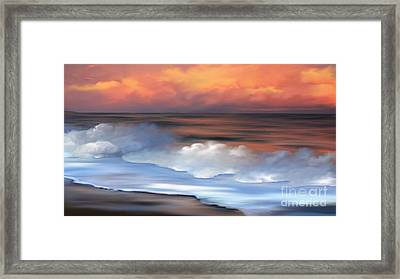 Beach Oasis Framed Print