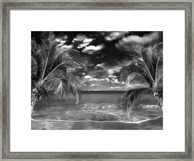 Beach Of Forgotten Colours Framed Print