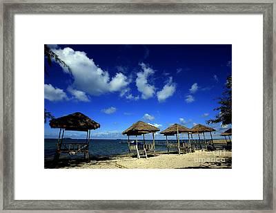 Beach On Bintan Framed Print by Yuli Seperi